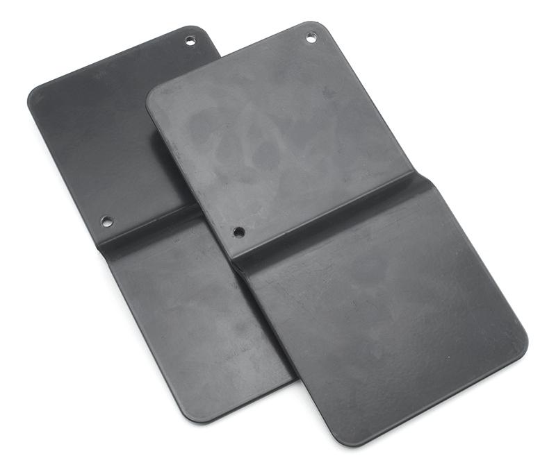 post deflection plates