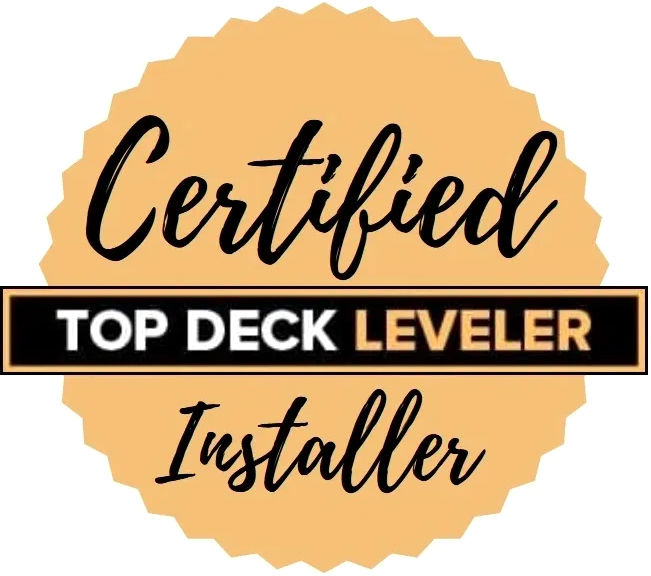 certified top deck leveler installer