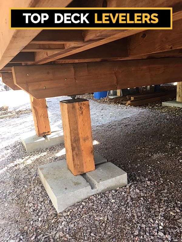 top deck leveler installation 2021 04 A